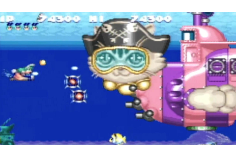 CGR Undertow - GOKUJOU! PARODIUS review for Super Famicom ...