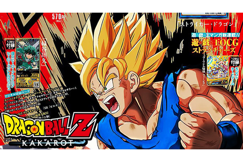 NEW Dragon Ball Z: Kakarot SUPER SAIYAN GOKU & MORE INFO ...