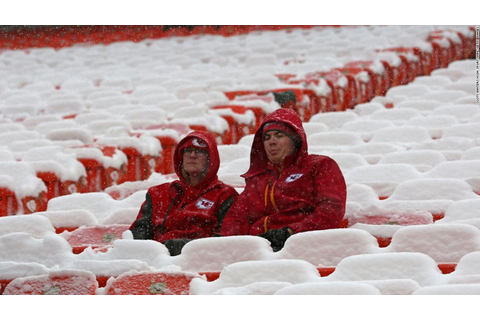 Winter storms are snow problem for Kansas City Chiefs fans ...