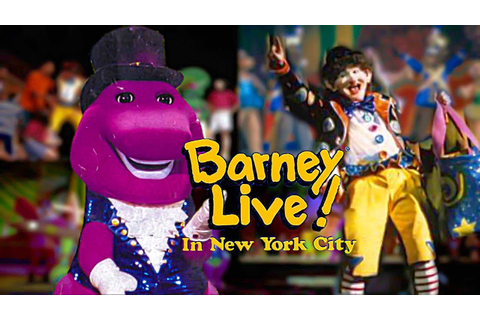 Barney Live! in New York City (1994) [VHS] - full in HD ...