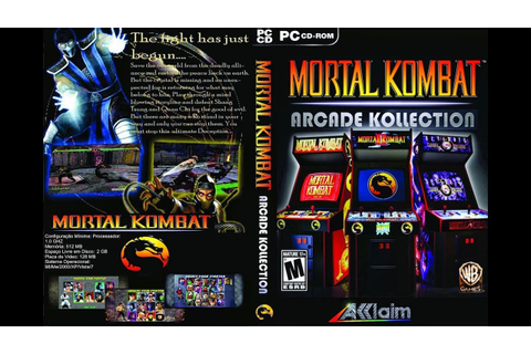 Baixar e instalar Mortal kombat arcade kollection PC/2020 ...