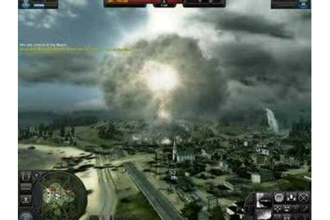 World in Conflict Nuclear Bomb - YouTube