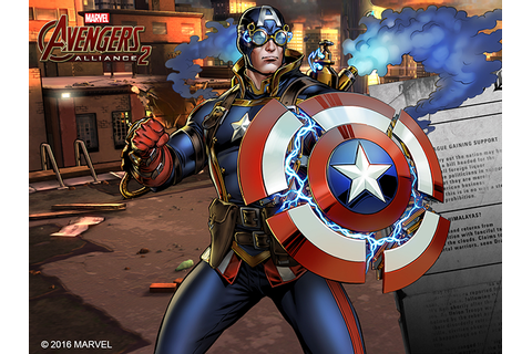 Marvel Mobile Games Celebrate 75th Anniversary of Captain ...