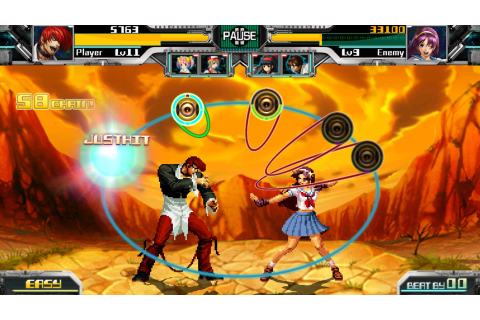 Enjoy King of Fighters Spinoff 'Rhythm of Fighters' on Android