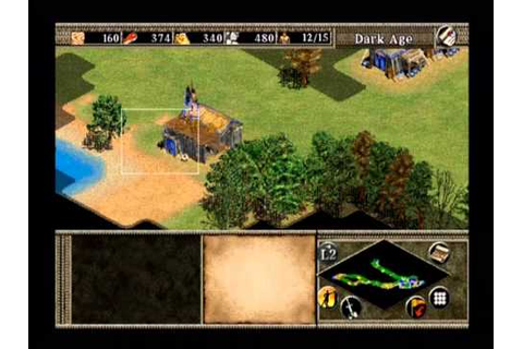 Age of Empires II: Age of Kings (PS2) gameplay - YouTube