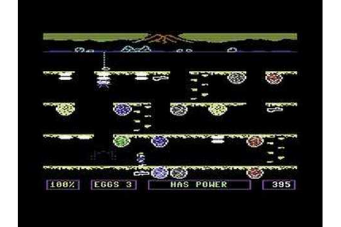C64 Gamevideo - Dino Eggs - YouTube