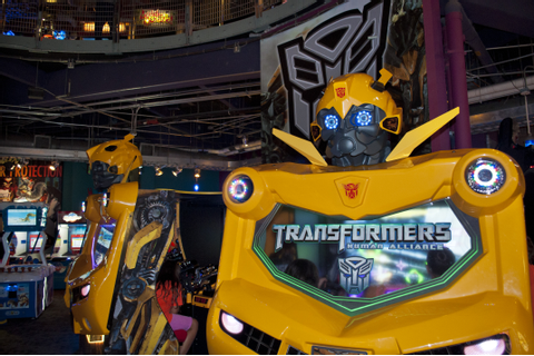 Transformers Human Alliance has Landed at GameTime | GameTime