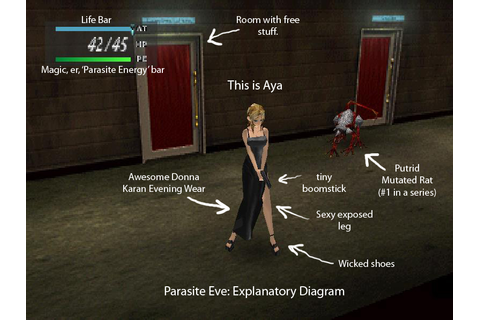 Halloween Horror Video Game Roundup Last Day: Parasite Eve ...
