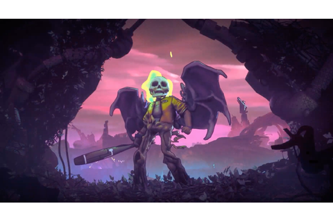 Roguelike game Rad announced by Double Fine and Bandai ...