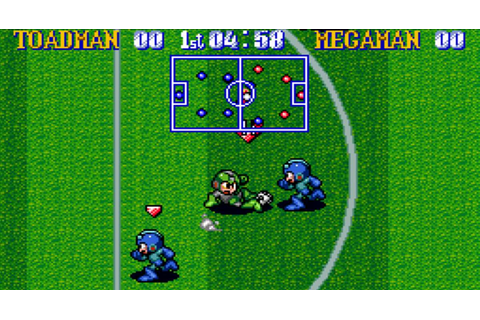 Mega Man Soccer - SNES password e trucchi