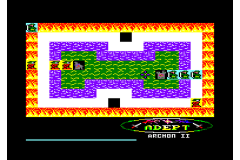 Archon II - Adept (1989)(Electronic Arts) - ROMs Amstrad ...