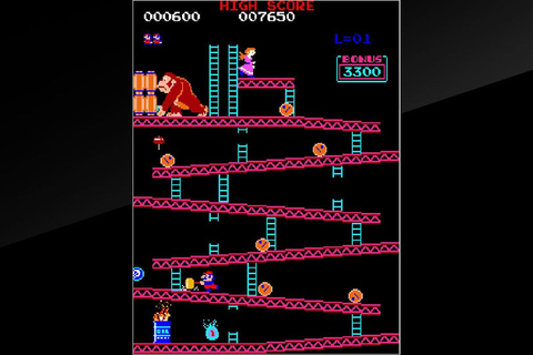 Arcade Donkey Kong re-released for first time on Nintendo ...