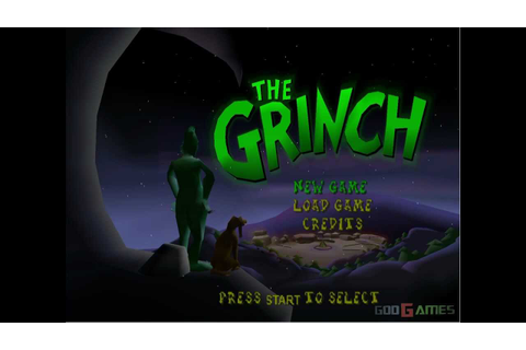 The Grinch - Gameplay Dreamcast HD 720P - YouTube