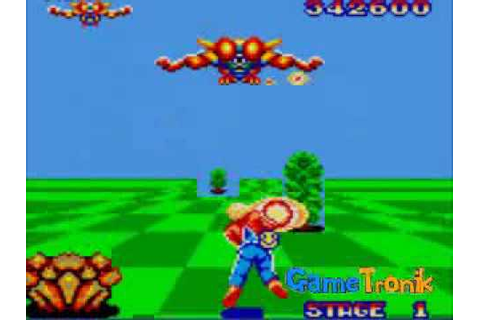 Space Harrier - Game Gear - YouTube