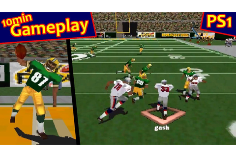 NFL Gameday 98 ... (PS1) - YouTube