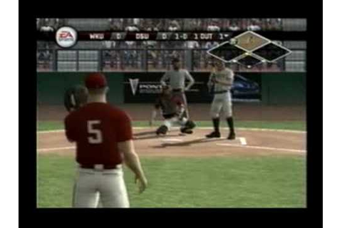 MVP 07 NCAA Baseball (Playstation 2) - Sample Gameplay ...