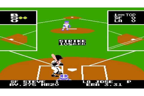 Bad News Baseball NES Gameplay 1990 1080P - YouTube