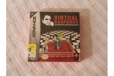 Virtual Kasparov (Nintendo Game Boy Advance, 2002) for ...