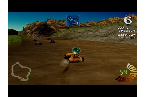RC Revenge Gameplay Championship mode (PS1,PSX,PsOne ...