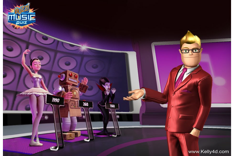 Kelly Ford: Buzz! The Ultimate Music Quiz (2010) (PS3)
