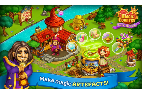 Magic Country: fairy city farm – Gems Mod Apk