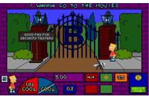 Simpsons: Bart's House of Weirdness, The Download (1991 ...