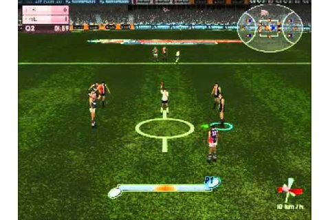 AFL Live 2004: Premiership Edition - Gameplay - YouTube