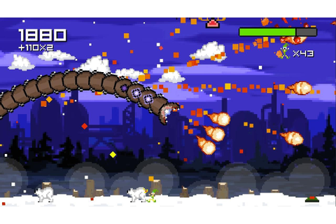 Super Mega Worm Vs Santa Saga - Download android game