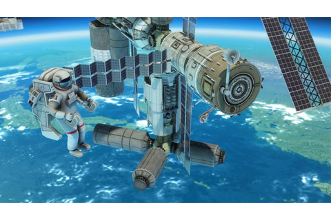 3D Space Walk Astronaut Simulator Shuttle Game - Android ...