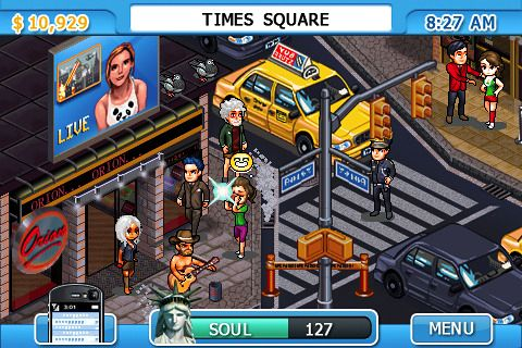New York nights: Success in the city iPhone game - free ...