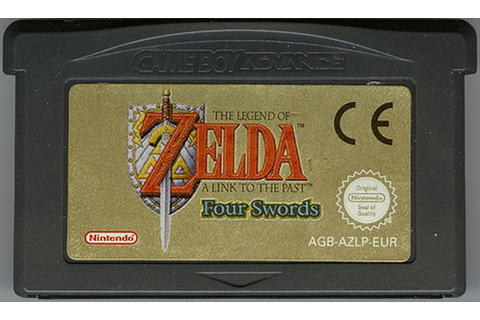 The Legend of Zelda: A Link to the Past/Four Swords (2002 ...