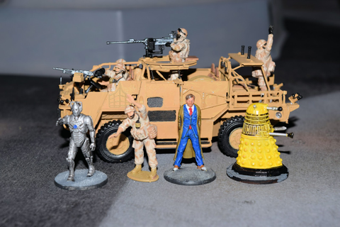 John's Toy Soldiers: Warlord Games Dr Who Minis - Size and ...