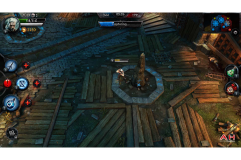 Android Game Of The Week: The Witcher Battle Arena ...