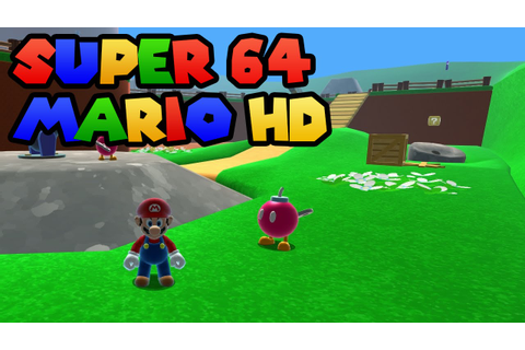 Super Mario 64 HD Remake Gameplay (All coins) - YouTube