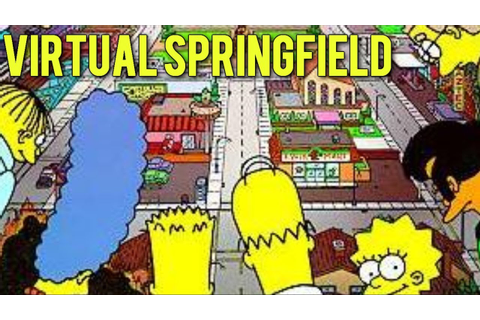 Virtual Springfield Gameplay - YouTube