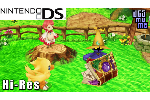 Final Fantasy Fables: Chocobo Tales - Nintendo DS Gameplay ...