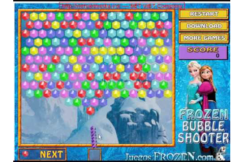 Frozen Bubble Shooter game - YouTube