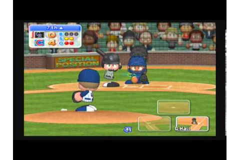 MLB Power Pros 2008 (Wii) NLDS Game #2 Rockies @ Cubs ...