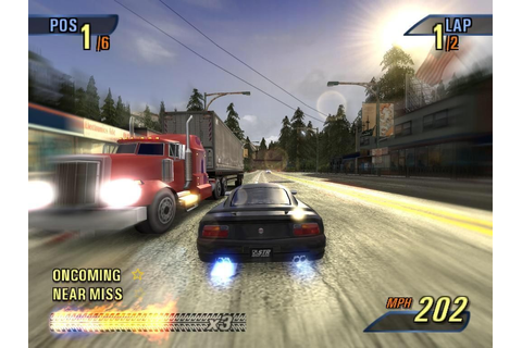 This game sums up my childhood. Burnout 3: Takedown ...