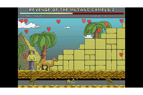 Revenge of the Mutant Camels 2 (Windows game 2001) - YouTube