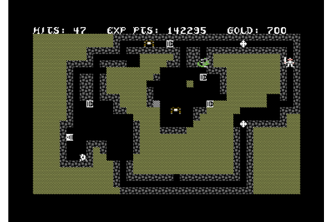 g冒険者: [C64] The Sword of Fargoal (1982)