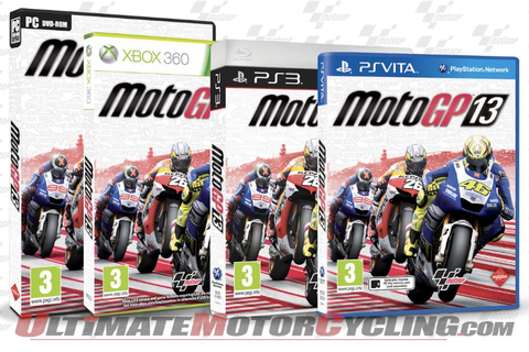 MotoGP 13 Video Game Now Available