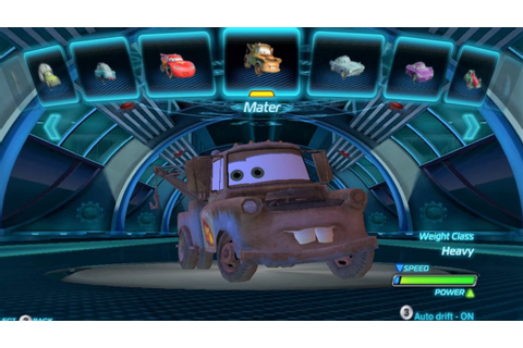 Cars 2 The Game All Characters PC HD - YouTube