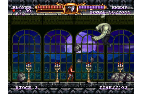 Castlevania The Adventure ReBirth (WiiWare) Screenshots