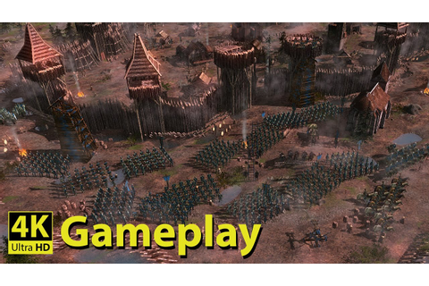 Medieval Kingdom Wars - 4K GAMEPLAY [New Medieval Real ...