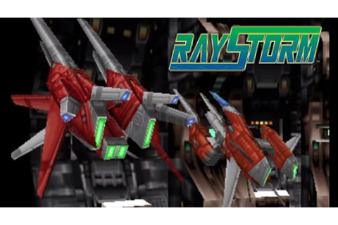 RayStorm Arcade mode + Shooting Down Rate (Boss all parts ...