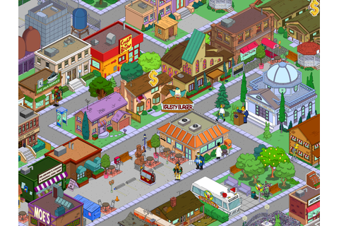 User blog:Smettbonia/My Springfield | The Simpsons: Tapped ...