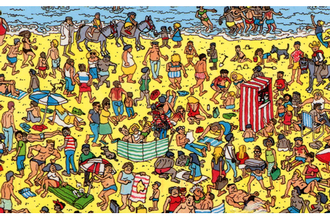Where is Waldo - Where's Waldo - the beach - book - game ...