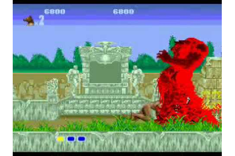 Altered Beast: Sega Megadrive - YouTube