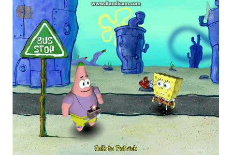 Spongebob Squarepants Employee of the Month PC Game Part 1 ...